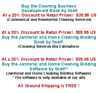 janitorial bidding making a bid for commercial cleaning services